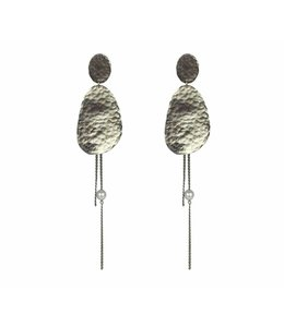 TAIM Oorbel Ornate Silver
