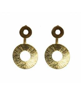 TAIM Oorbel Cleo Gold