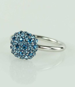 Phantasya Ring Crystal Square Blue