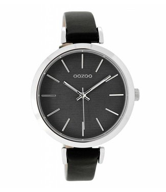 Oozoo Montre Black Grey