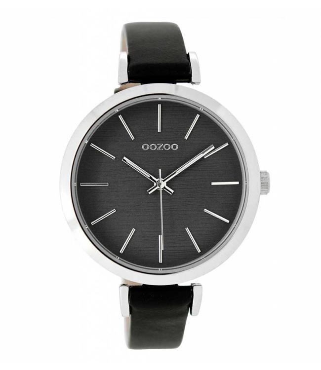 Oozoo Uurwerk Black Grey