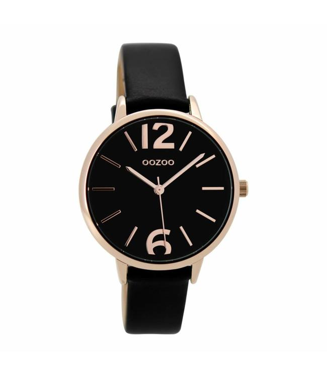Oozoo Watch Timepieces Black