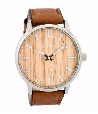 Oozoo Uurwerk Timepieces Cognac/Pine