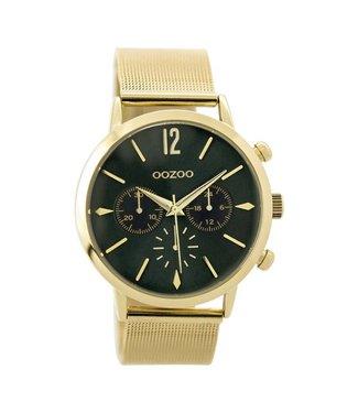 Oozoo Uurwerk Timepieces goud/groen