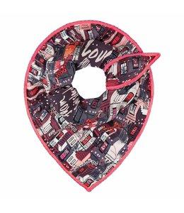 POM Amsterdam Pom - Sjaal Love Amsterdam Red