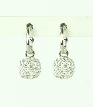 Phantasya Boucles d'oreilles crystal square