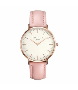 Rosefield Montre Bowery white pink rosegold
