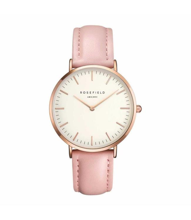 Rosefield Watch Bowery white pink rosegold