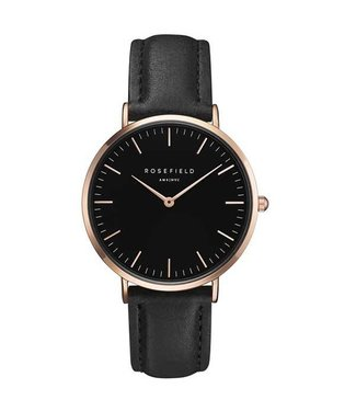 Rosefield Watch Bowery black black rosegold