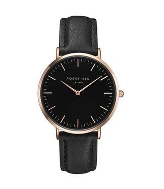 Rosefield Watch Bowery black black rosegold