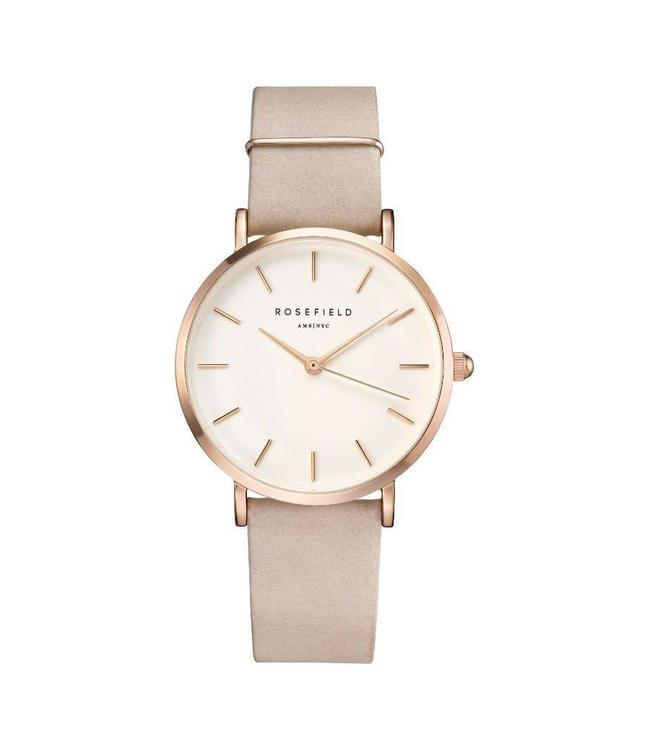 Rosefield Watch West Village Soft pink - Rose Gold