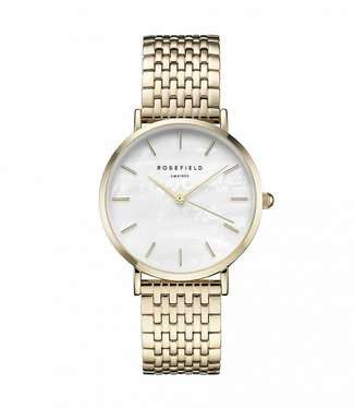 Rosefield Watch Upper East Side White Pearl - Gold