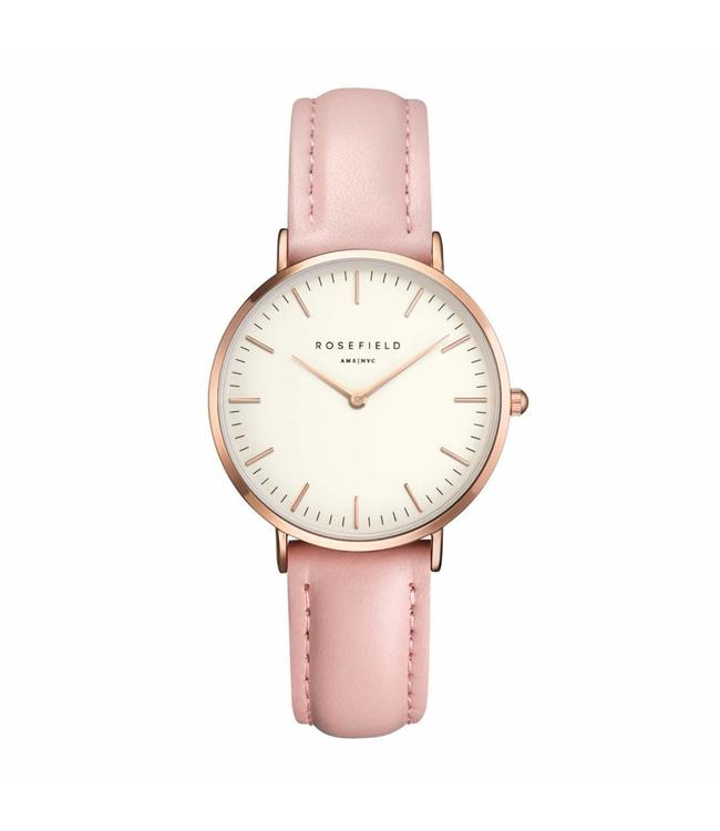 Rosefield Montre - The Tribeca White Pink rosegold