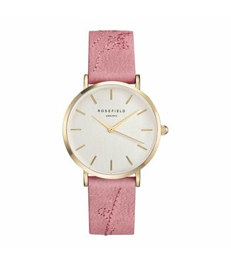 Rosefield Watch city bloom rose brush gold