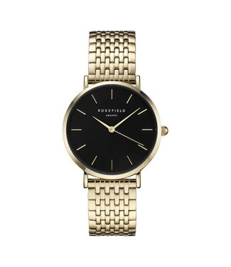 Rosefield Watch Upper East Side Black - Gold