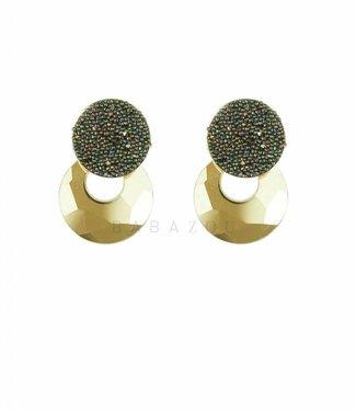 Inge Accessori Oorbel Crystal Drop Mini