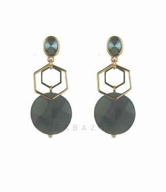 Inge Accessori Earring Esagono