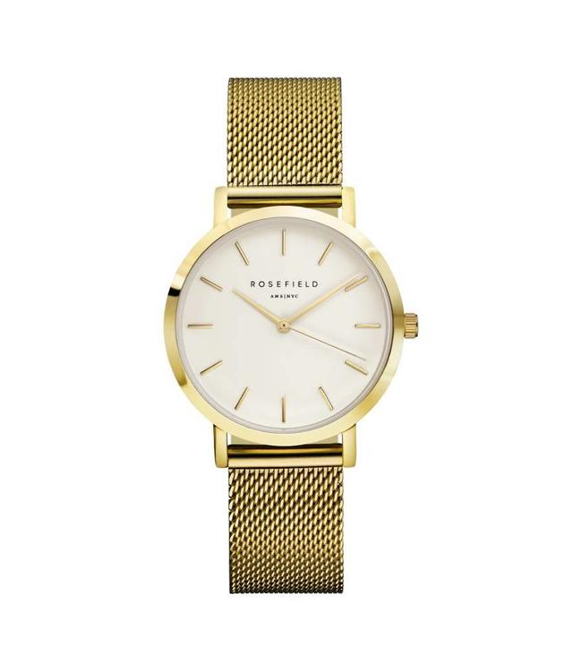 Rosefield Montre Tribeca white gold
