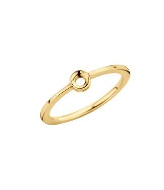 MelanO Ring Twisted Petite Goud