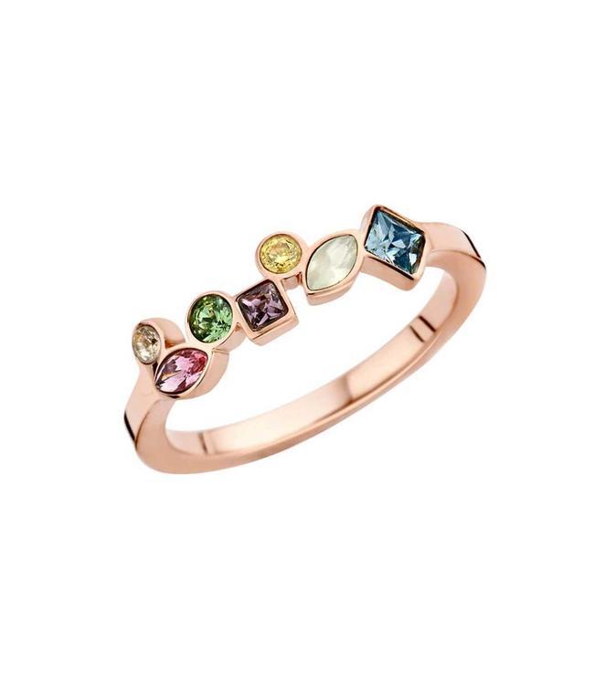 MelanO Ring Friends Mosaic Rosegold