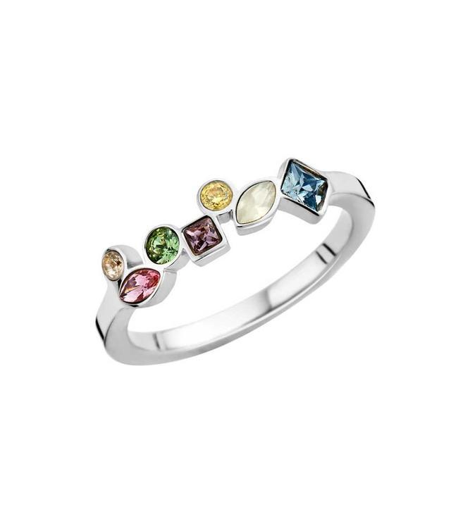 MelanO Ring Friends Mosaic Silver