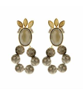 Souvenirs de Pomme Boucles d'oreilles Roxanne Sand