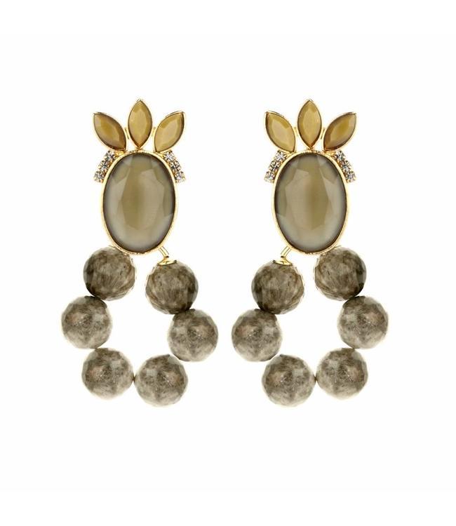 Souvenirs de Pomme Earring Roxanne Sand