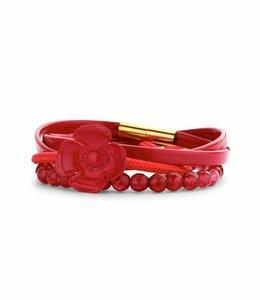 Souvenirs de Pomme Armband Set A Fraise