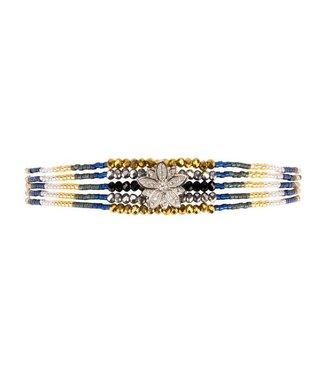Hipanema Armband Arizana Navy