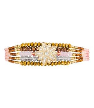 Hipanema Armband Arizana Pink