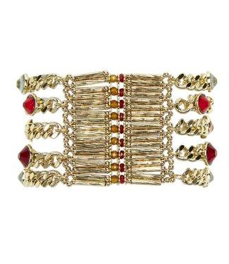 Hipanema Bracelet CONDOR Red