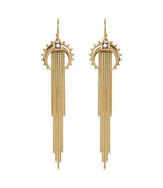 Hipanema Earring KASHMIR Gold