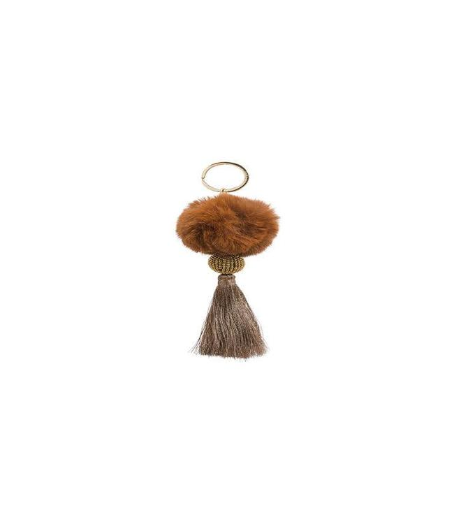 Hipanema Key rings Fluffy Choco
