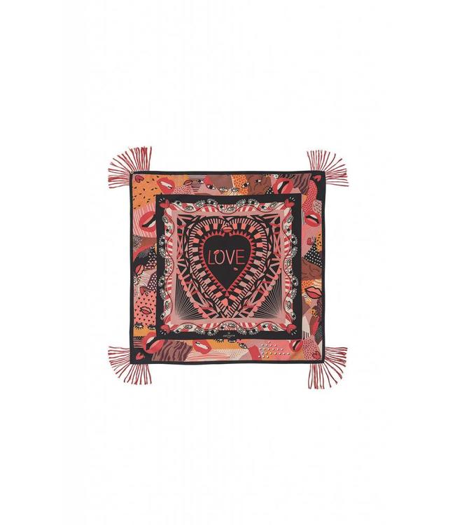 Hipanema Scarf KISS KISS Pink