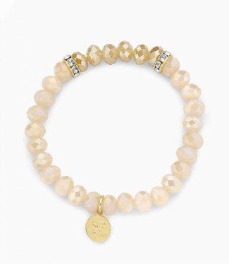 Souvenirs de Pomme Bracelet Crystal Nude