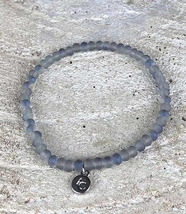 Miracles Bracelet blue rainbow stones