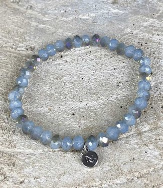 Miracles Armband blue brown rainbow stones