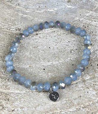 Miracles Bracelet blue brown rainbow stones