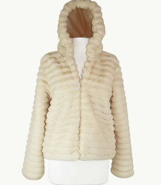 Miracles Coat Lech White