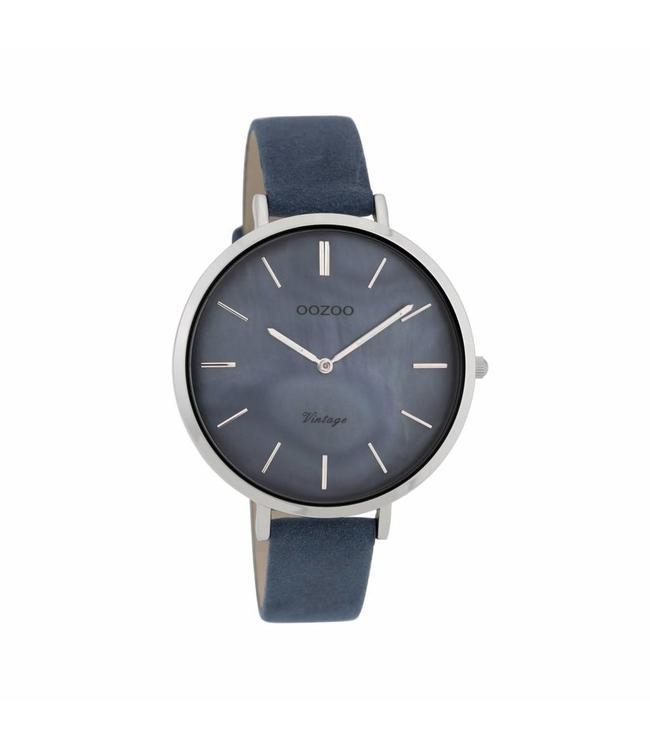 Oozoo Montre Vintage Blue/Grey