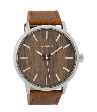 Oozoo Uurwerk Timepieces Cognac Oak