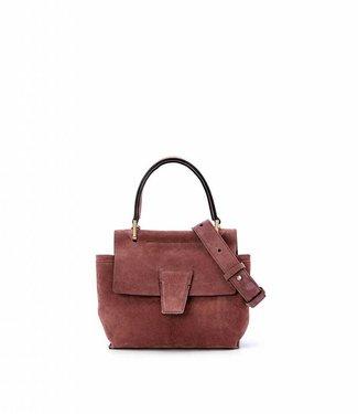 Gianni Chiarini Handbag  Elettra Mini - Brownrose-Nero