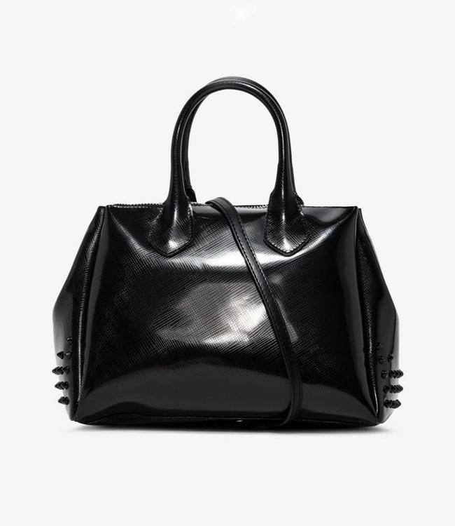 Gum Handbag Glossystud Black M
