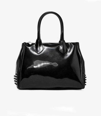 Gum Handbag Glossystud Black L