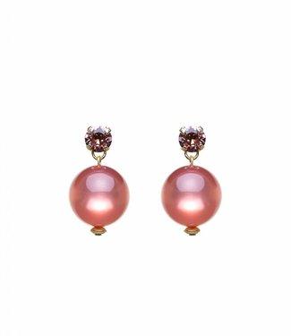 Paviè Boucles d'oreilles Globo Pink