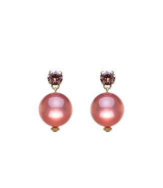 Paviè Earring Globo Pink