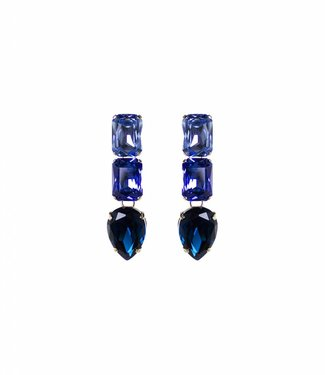 Paviè Earring Cristallo blue