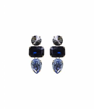 Paviè Earring Anastasi Blue