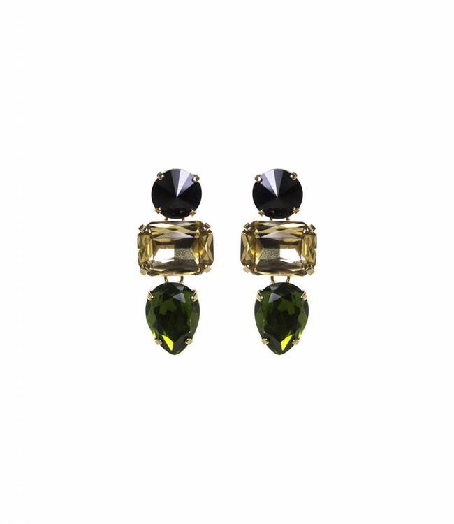 Paviè Earring Anastasi Green