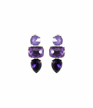 Paviè Oorbel Anastasi Purple